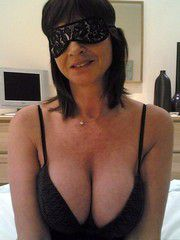 Stefanie is still wearing her sleep eye mask, but she knows perfectly well that her son is at her..
