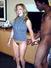 This woman had a black dick for the first time