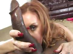 Janet Mason in love whit a his black hard dick