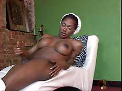 Big Tittie Black Tranny