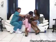 Afro Slut Fondled And Fucked In Twat Big hot busty ghetto penetrated