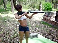 Gun-Toting Sexy Black ASS OMG!! - Ameman