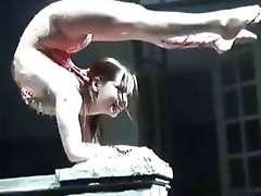 Flexible Girl FLEXIBLE GIRL SHOW STRETCHING