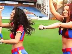 Sexy Cheerleaders do Gangnam Style