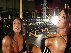 two gorgeous muscles divas