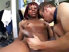 Redhead Ebony Shemale