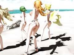 MMD Sexy Touhou Dance 3