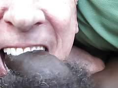 sucking young black cock