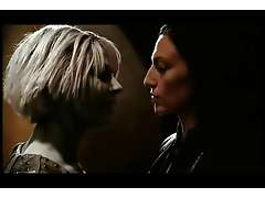 Gigi Edgley and Claudia Black hot scene