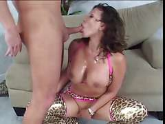 True MILF Slut Ava Devine Sloppy Whore in Stripper Outfit