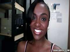 Banging With Ebony Brunette