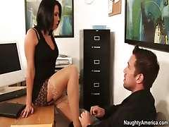 Office lady Rachel Starr