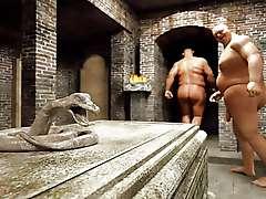 Hot Movies scene, GISELA aka LARA CROFT the tomb