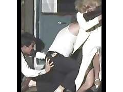 Bonny Clyde Stockings, sex video