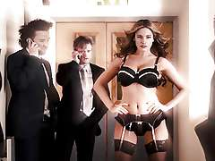 Kelly Brook Sexy Underwear Slow-Mo HD..