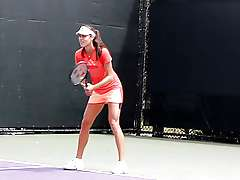 Ana Ivanovic - Hot as hell at practice