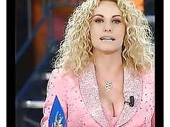 Busty Antonella Clerici amazing breasts
