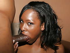 Ms Platinum shows her skills on a..