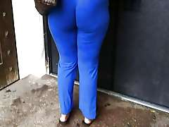 Big Blue ass, my voyeur hidden camera movie