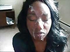 Real black wife cumshot movie