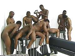 Big black gay orgy, bruthas hot for bruthas