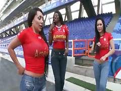 Culioneros present - Partido de Futbol de Sexo (Sandra, Karina, Celeste)