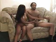 black couple homemade sextape