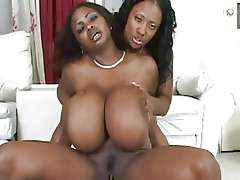 Monster Tit MILFs Interracial Juggs Fucking!