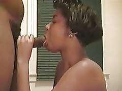 Black classic porn video, sucking cock