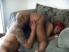 Fat ebony mom, Lethal Lipps Rides Anally