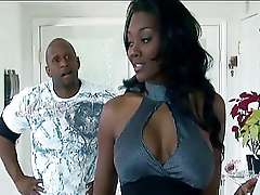 Bosomy sex stars - Nyomi Banxxx increased by Regent Yahshu Black porn