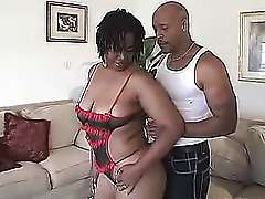 Fat african BBW Tiger Gets It On