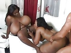 Chunky ebony BBWs, i dote on their natural breasts coupled with nudity Black porn