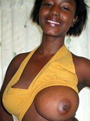 Busty african-american girls nude, big..