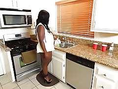 Anila Avana - Black housewife Sex Scene