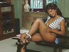 Vintage pornstar Babs aka Barbara Banda