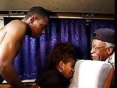 Vanessa Blue, retro vintage black porn video