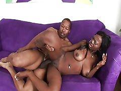 Black porn Creampie video.