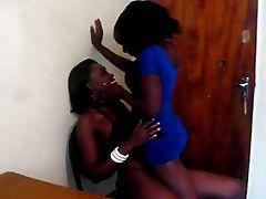 Amateur African lesbians 13 Black porn