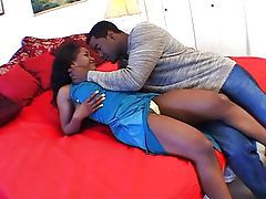 Ebony banging action