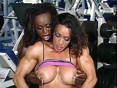 Denise Masino and Dayana Cadeau - FBB