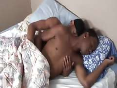 Black gay wakeup bareback