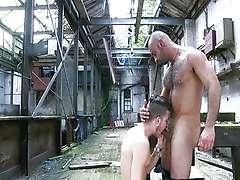 Warehouse fuck