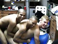Gay Guys Host Cock Sucking Party In Their Dorm Room