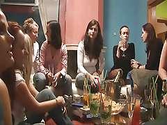 Lesbian swingers orgy party!