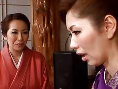 Mature Japanese lesbian vacation