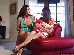 Alison knows how to make her gf Tiffany feel better Alison Tyler knows how to make her stepsister..