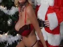 Ho Ho Ho Kelly madison blow santa