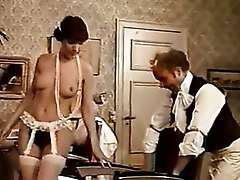 retro hairy twat banging with doctor