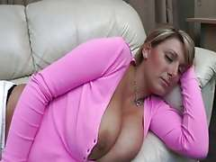 Big tits mature lady